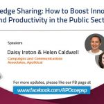 Knowledge Sharing: How to Boost Innovation and Productivity in the Public Sector